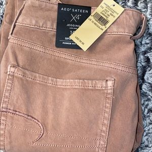American Eagle Outfitters Jeans - American Eagle Pink Jeggings